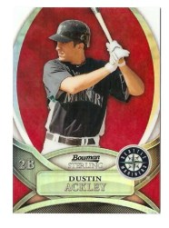 2010 Bowman Sterling Dustin Ackley Red Refractor /1