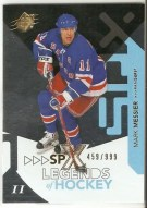 2010-11 Spx Mark Messier Legend /999