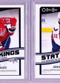 10/11 UD O-Pee-Chee Mike Green Stat King