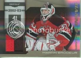 10/11 Limited Martin Brodeur Banner Season