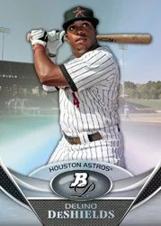 2011 Bowman Platinum Delino DeShields Rookie Prospect
