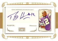 2009 Topps Mayo Percy Harvin Autograph RC