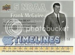 2010 Upper Deck Timelines Frank McGuire