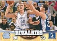 2010-11 North Carolina Rivalries Eric Montross