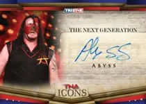 2010 TNA Icons Abyss Autograph