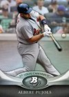 2011 Bowman Platinum Albert Pujols Card