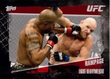 2010 Topps UFC 4 Rampage Jackson SP Nickname Variation Card