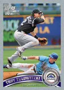 2011 Topps Troy Tulowitzki Platinum Parallel Series 2
