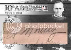 2010/11 Ultimate Memorabilia Howie Morenz Cut Autograph