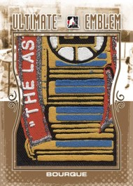 2010/11 ITG UM10 Ray Bourque Ultimate Emblem
