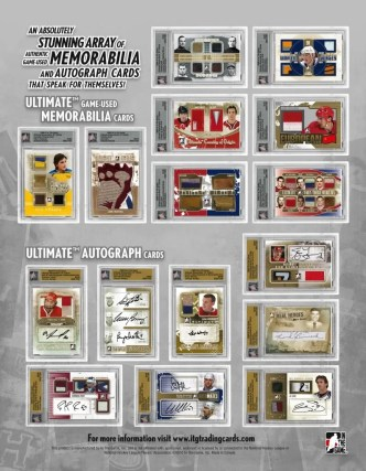 2010/11 ITG Ultimate Memorabilia 10 Sell Sheet