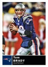 2010 Topps Magic Tom Brady Base Card