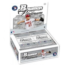 2010 Bowman Platinum Baseball Box