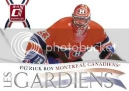 10/11 Donruss Hockey Les Gardiens Patrick Roy