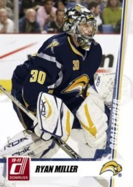 2010/11 Donruss Ryan Miller Base Card