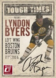 2010/11 Donruss Tough Times Lyndon Byers