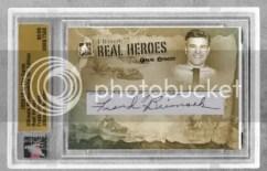 10/11 ITG Real Heroes Frank Brimsek Autograph