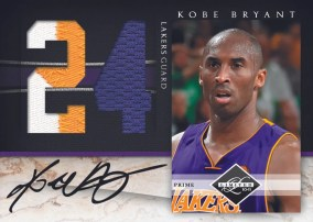 2010/11 Panini Limited Kobe Bryant Patch Auto