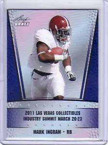 2011 Leaf Metal Draft Mark Ingram Vegas Summit Preview