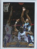 03/04 Topps Chrome Carmelo Anthony Rookie RC