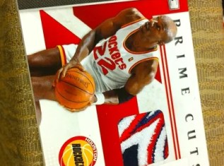 2010/11 Panini Prime Cuts Clyde Drexler Jersey Patch Card Rookies & Stars Basketball