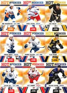 2010/11 Score Hockey Sp Short Print Rookie RC Cards