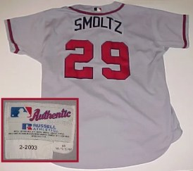 2010 Just Minors Gamers John Smoltz