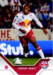 2011 Upper Deck Thierry Henry Soccer Card