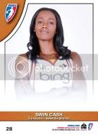 2010 Rittenhouse WNBA Swin Cash #28