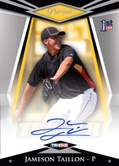 2011 TriStar Pursuit Jameson Taillon Autograph