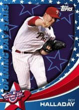 2011 Topps Opening Day Roy Halladay Opening Day Stars