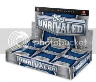 2010 Topps Unrivaled Football Hobby Box