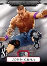 2010 Topps WWE Platinum John Cena Base Card