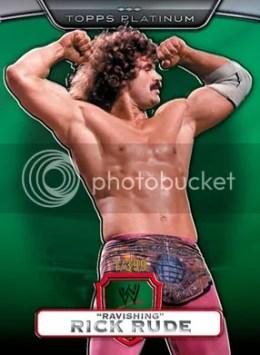 2010 Topps WWE Platinum Rick Rude Green Parallel
