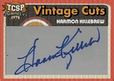 2011 Tri-City Sports PL Harmon Killebrew Cut Autograph