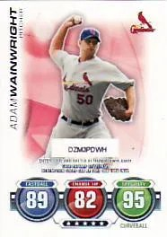 2010 Topps Attax Adam Wainwright