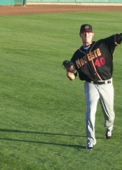Tyler Matzek Modesto Nuts Starting Pitcher - #1 Rated Prospect - Rockies