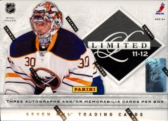2011-12 Panini Limited Hockey Box