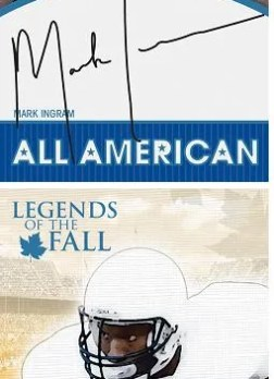 2011 Press Pass Legends Bo Jackson Autograph