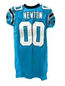 Cam Newton Autographed Jersey Found in Topps Five Star