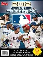 2012 Topps MLB Sticker Album