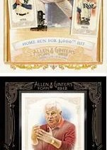 2012 Topps Allen & Ginter Derek Jeter Highlight Sketch