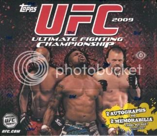 2009 Topps UFC Round 2 Hobby Box