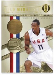 2010-11 Panini Gold Standard Medalist Dwight Howard 14K Card