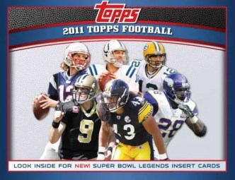 2011 Topps Football Box
