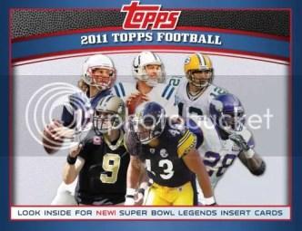 2011 Topps Football Box