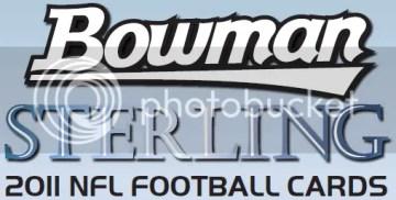 2011 Bowman Sterling Football