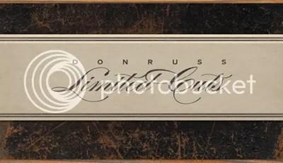 2011 Donruss Limited Cuts