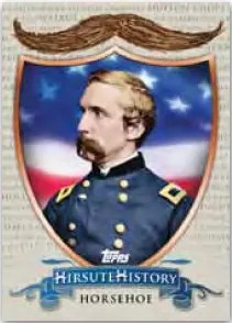 2011 Topps American Pie Hirsute History Insert Card
