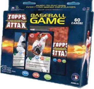 2011 Topps MLB Attax Baseball Starter Box